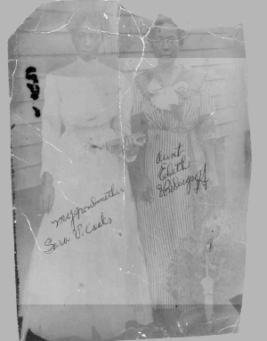 Aunties Sara and Edith