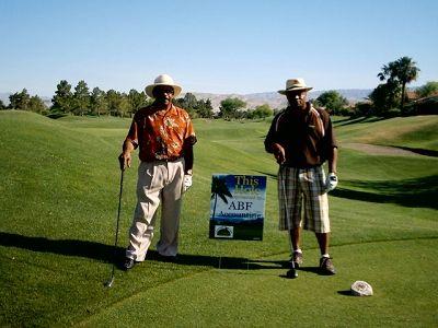 Bob And Ben On The Golf Courseflorida 2006