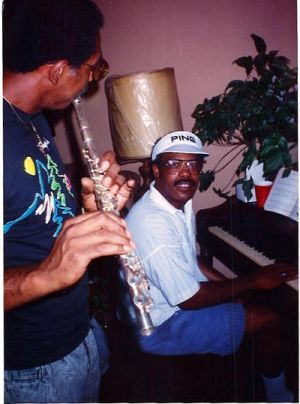 Bruce And Benny Making Music