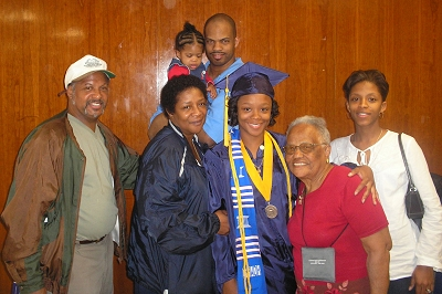 Family Picture At Micheles Graduation From Howard University